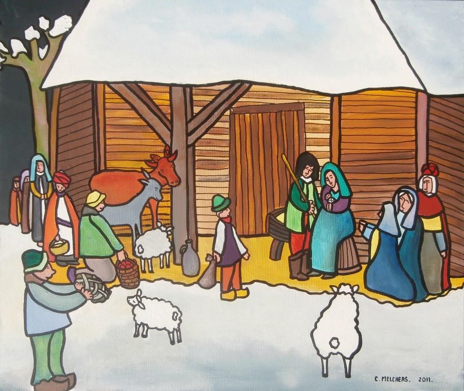 De Kerststal