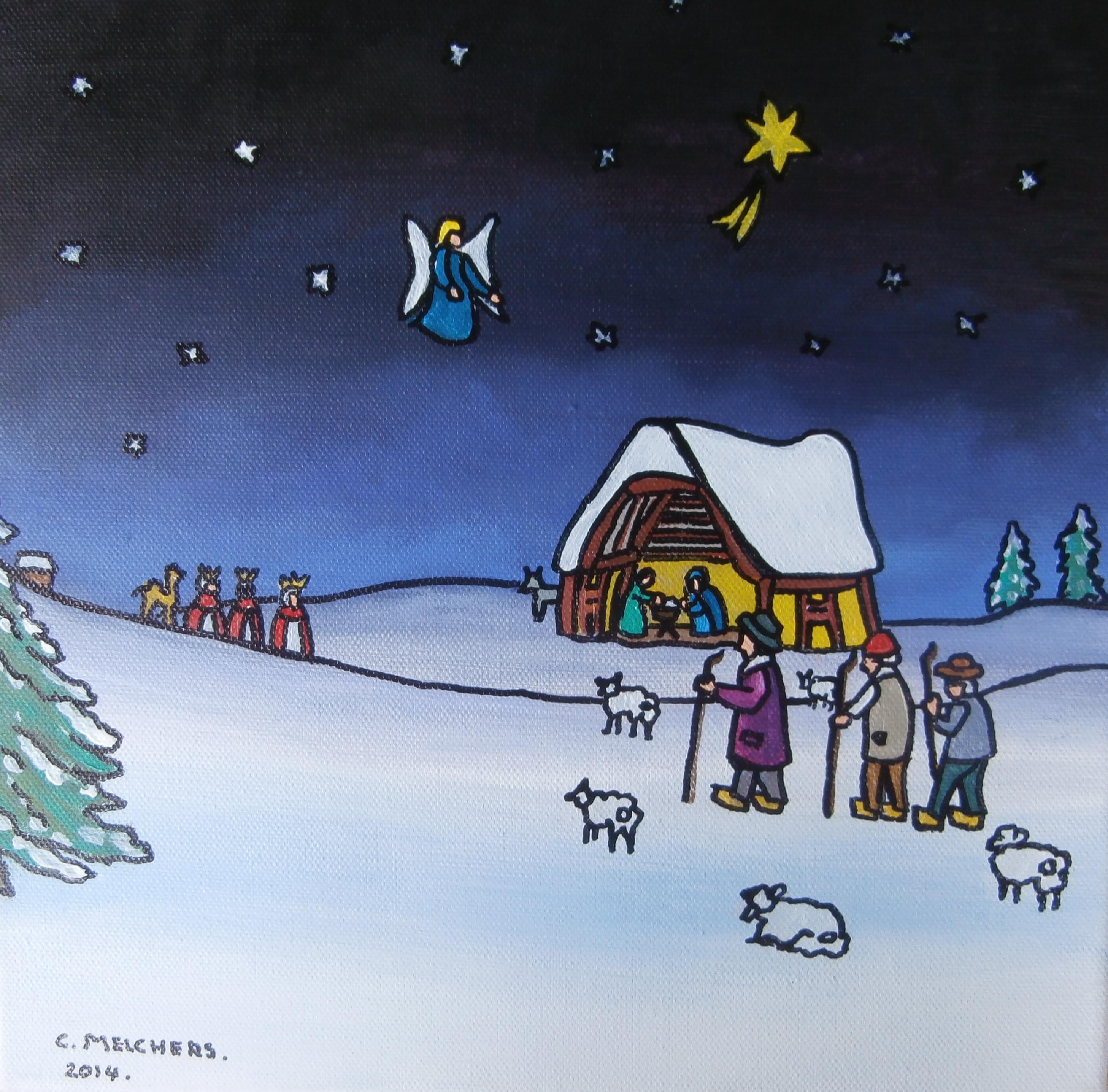 Kerstschilderij